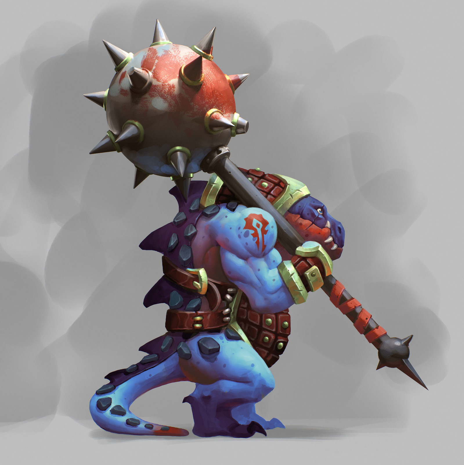 Warrior lizardman