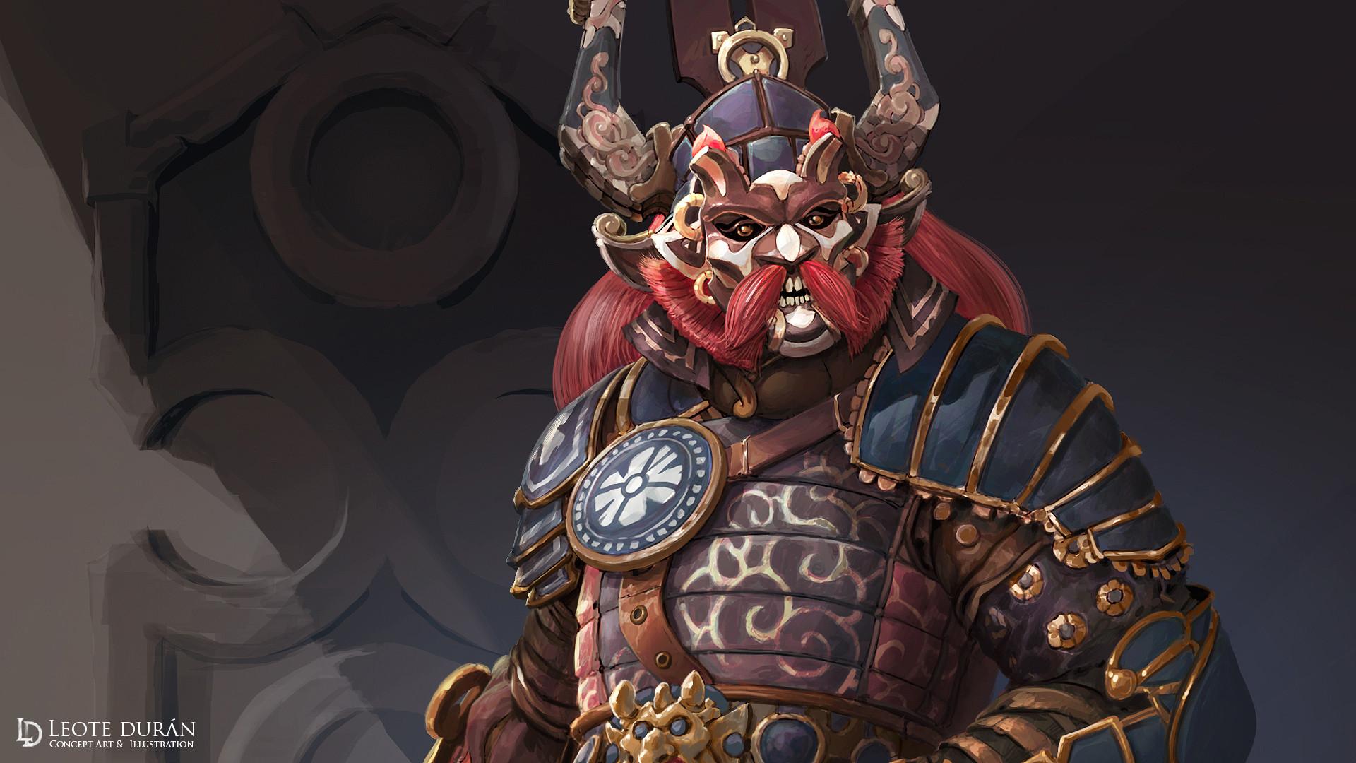 Artstation Samurai Character Concept Ld