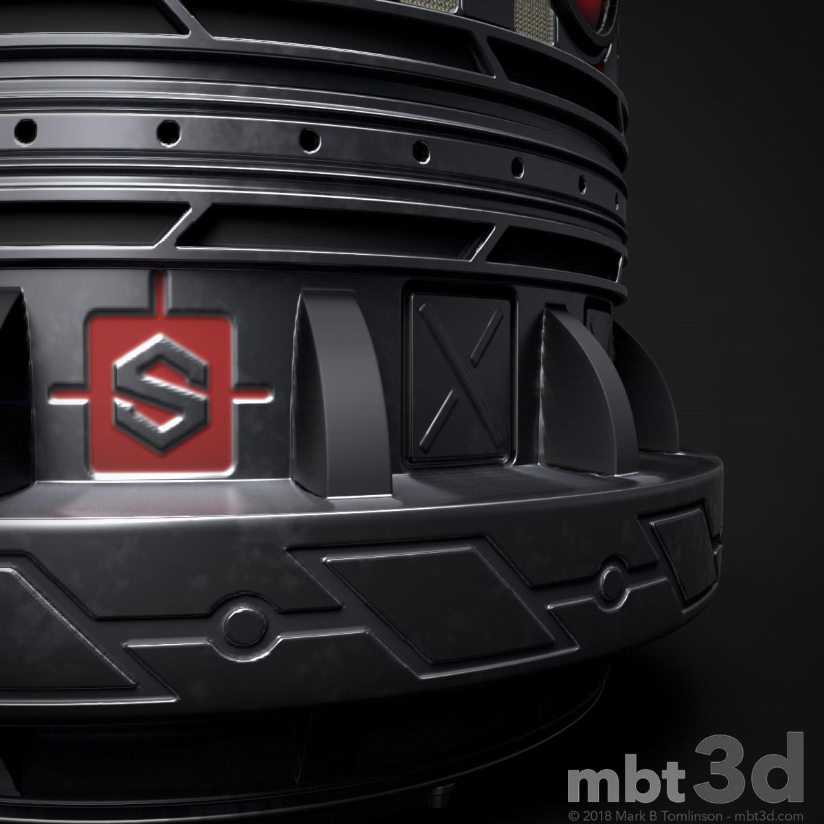 Sci-Fi Capsule - Base