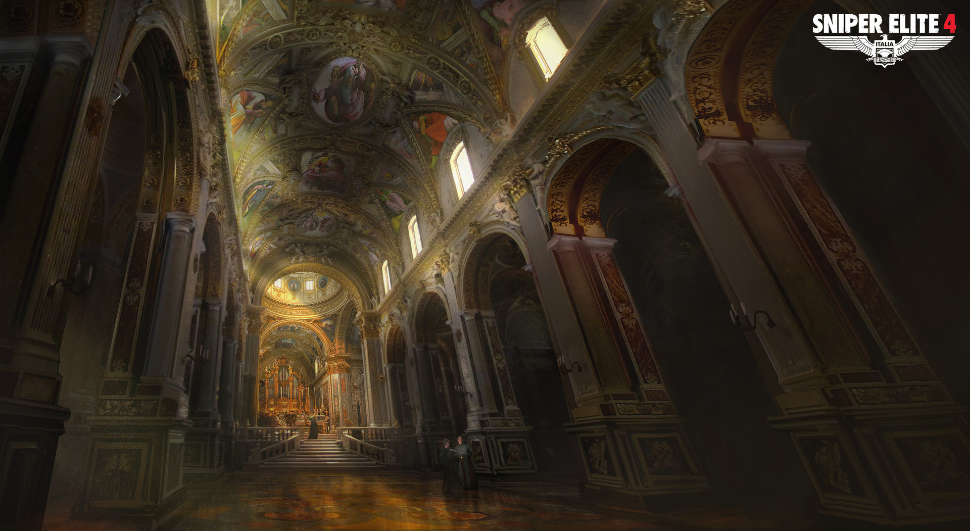 Jack eaves monte cassino abbey interior