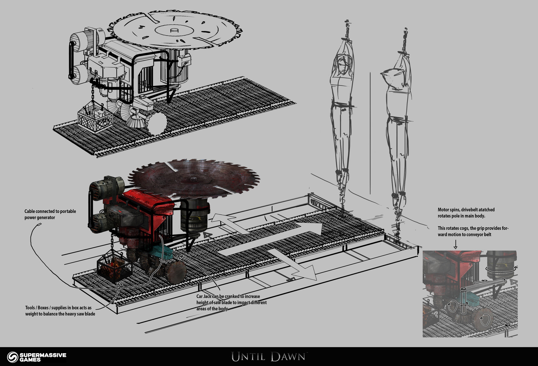 Jack eaves death machine concept