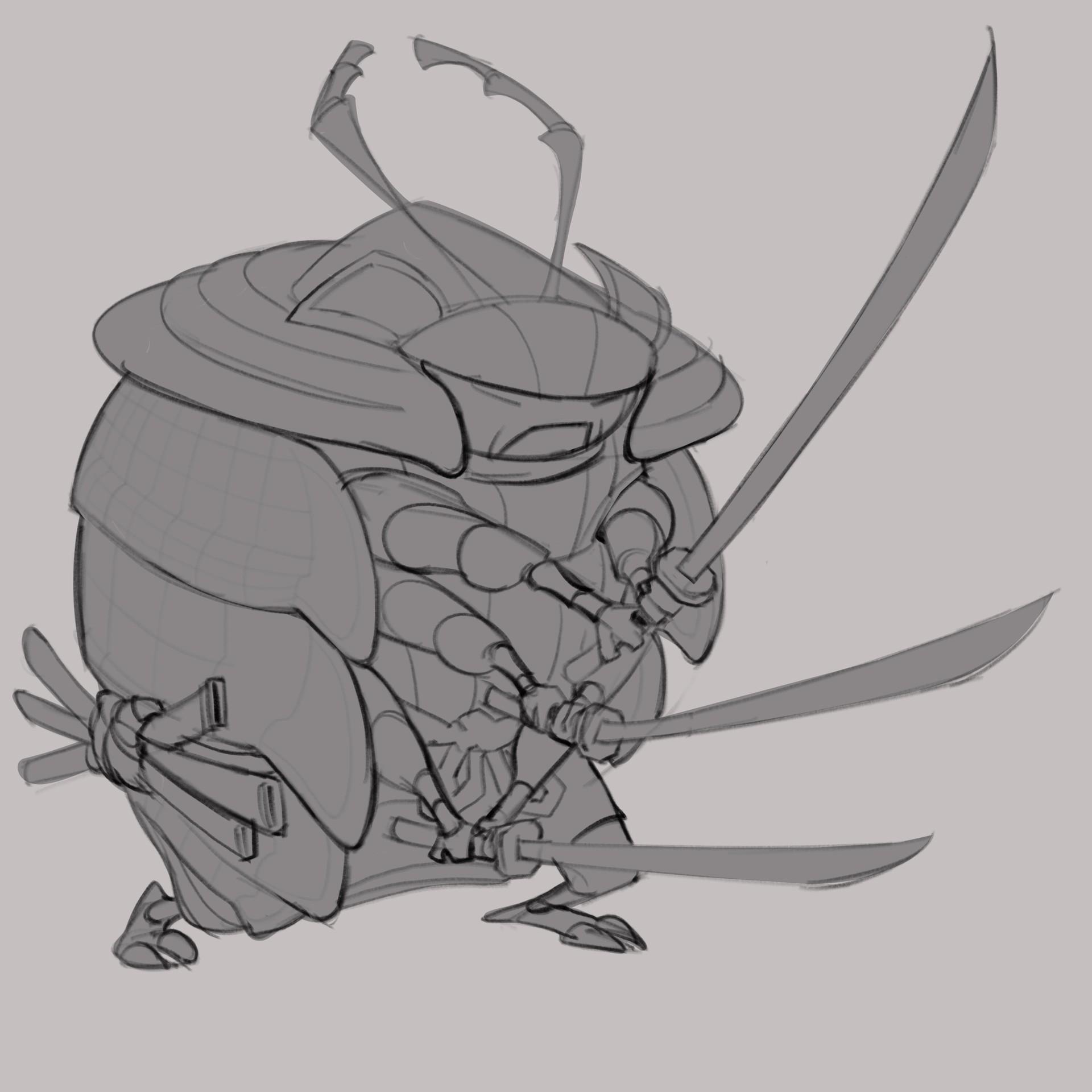 Vince Serrano - Pill Bug Samurai