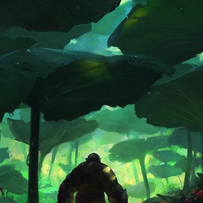 Grosnez nasturtium forest 1