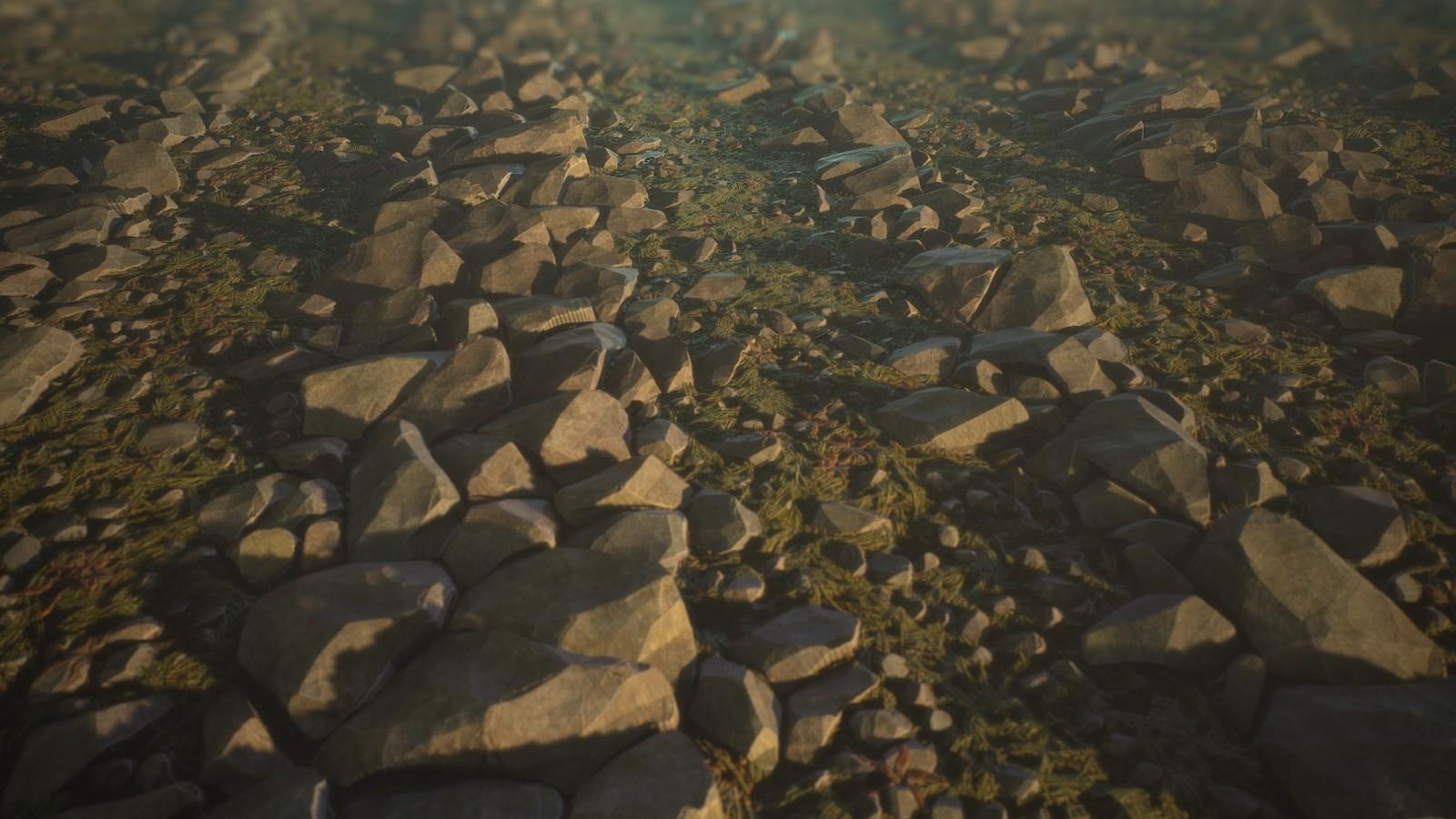 (Wip2) Rock Path