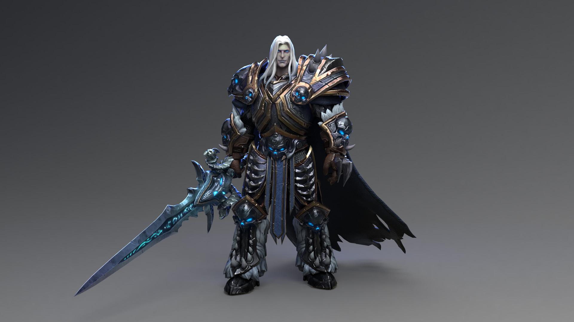 ArtStation - Arthas, the Lich King - BLIZZARD inspired character ...