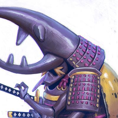 Samurai Beetle