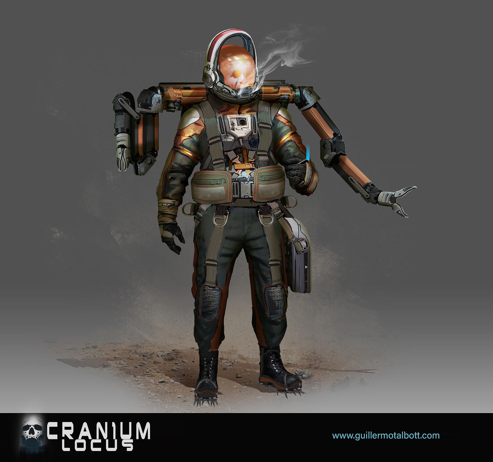 CRANIUM LOCUS -personal project