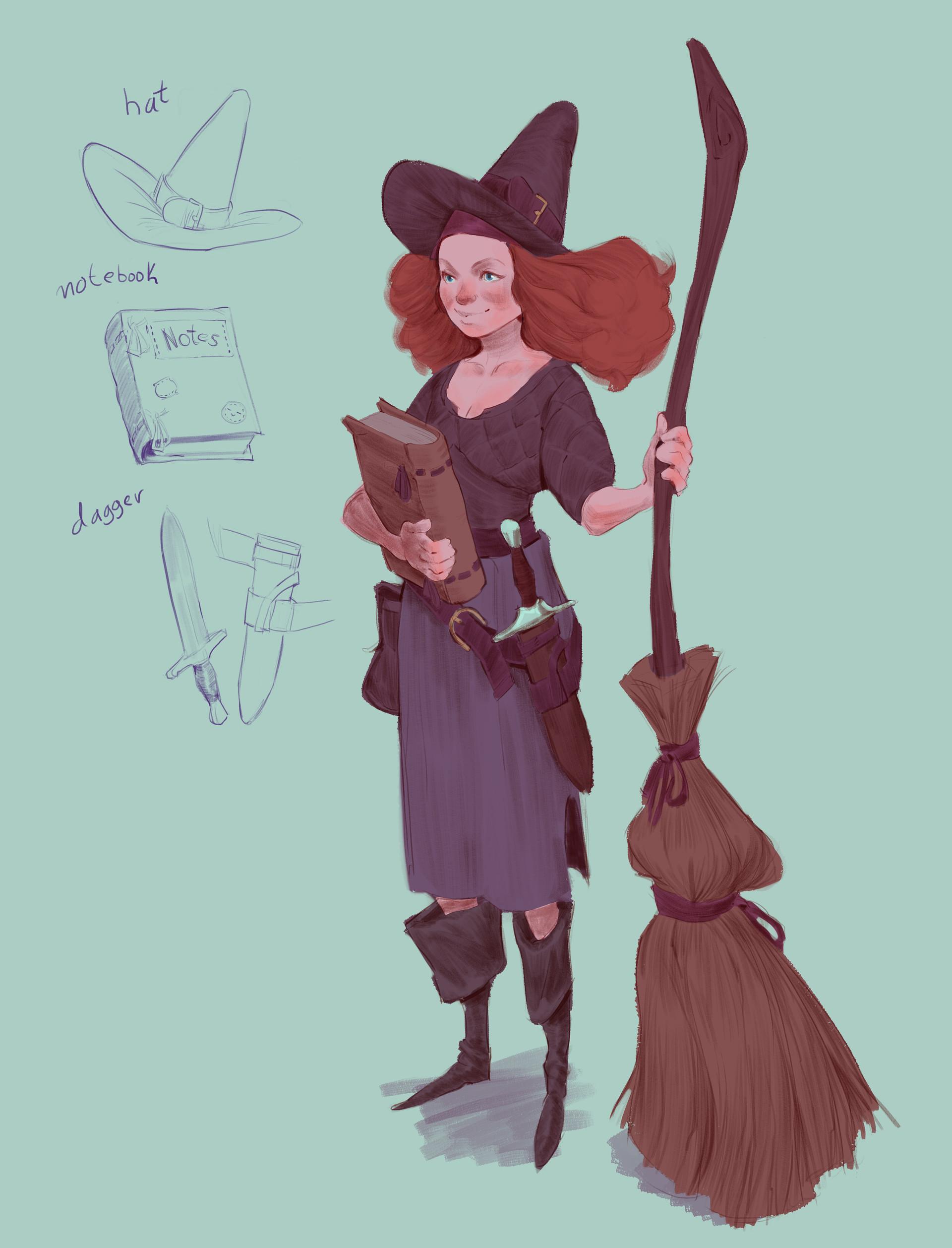 Pedro kruger garcia witch exploration