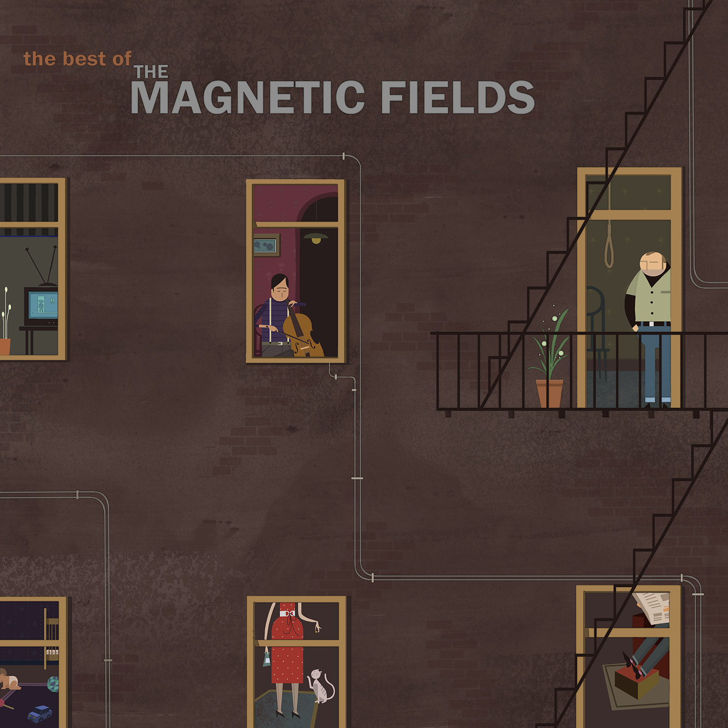 Best of the Magnetic Fields Album cover