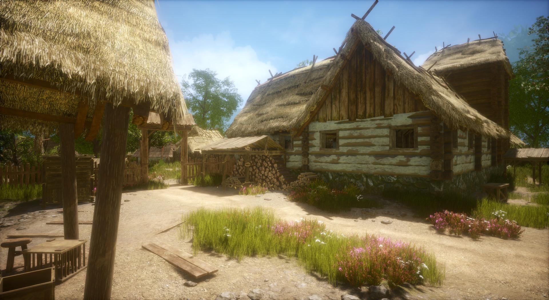ArtStation - Medieval village map (Unreal Engine 4), Robert Luszczki