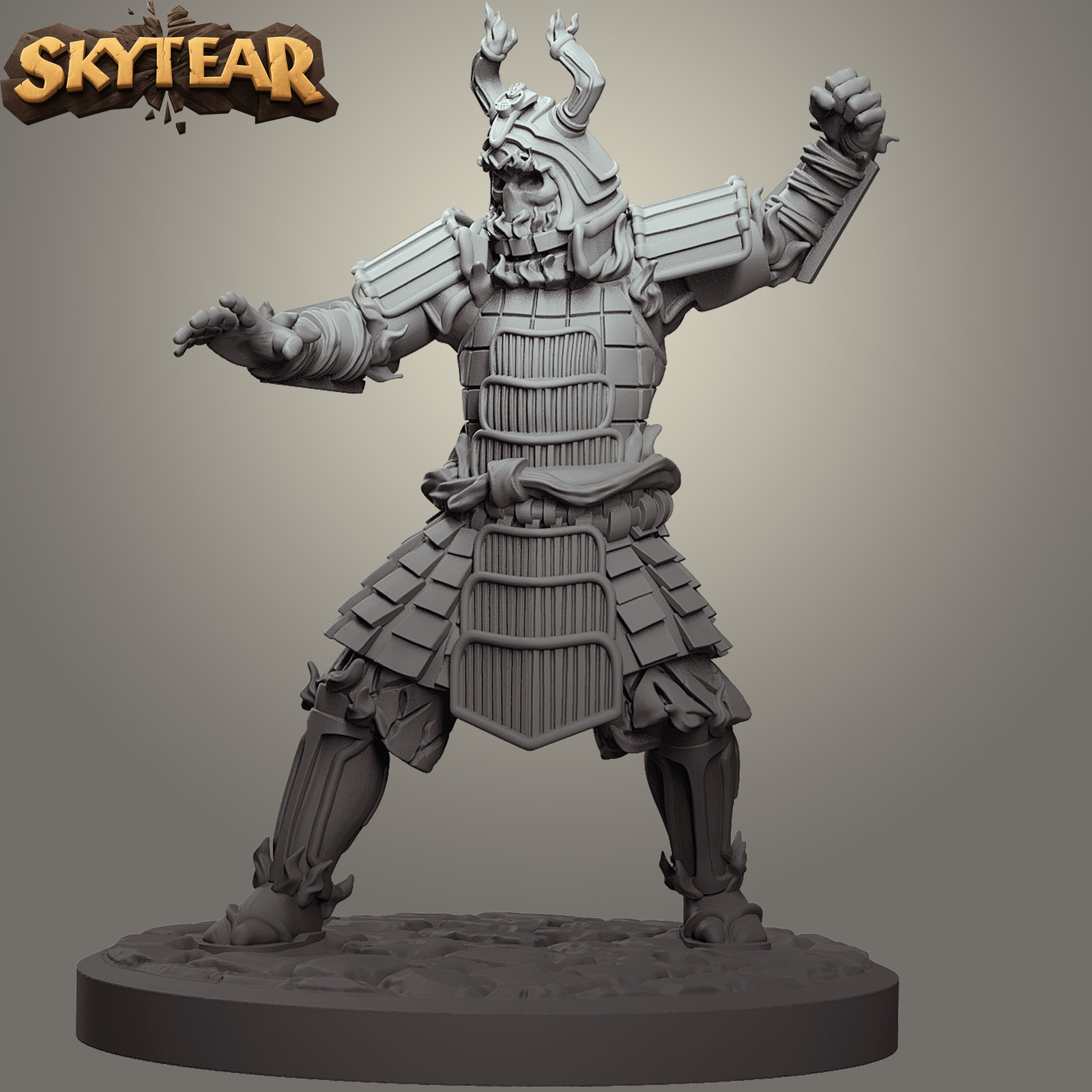 Skytear boardgame miniatures - Hogosai