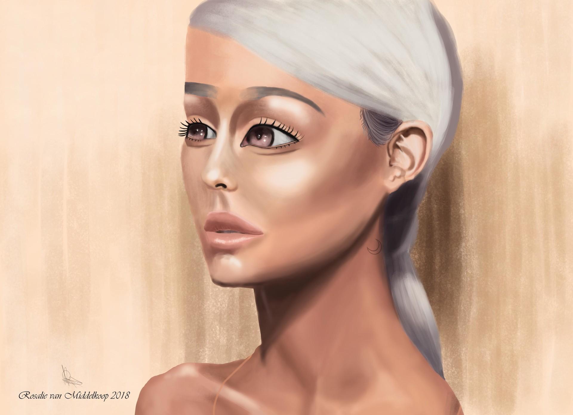 sweetener ariana grande  Rosalie van middelkoop - Ariana Grande Cover - Sweetener