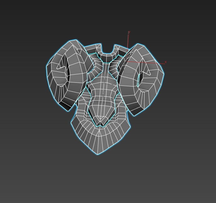 The base mesh I started from