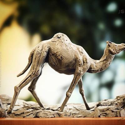 Surajit sen quick block camel by surajitsen ins
