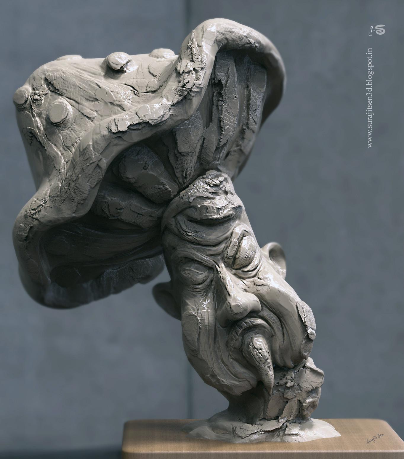 Surajit sen depressed quick sculpt surajitsen
