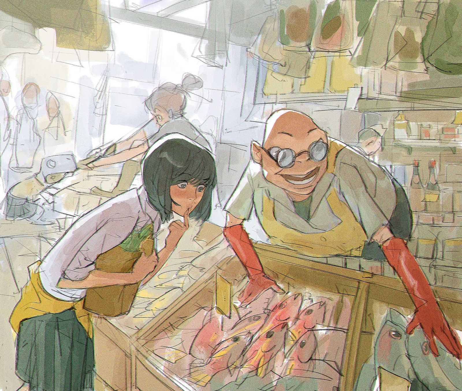 """""""The Market"""" Is this Digital or Traditional?"""
