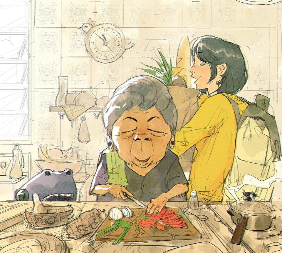 """Abuela"" best food ever"