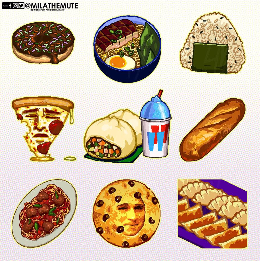 ArtStation - R6 // OW // Food Discord Emotes, Jason Gregory