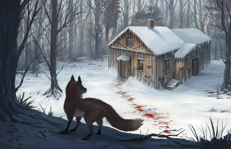 stay away, little fox
