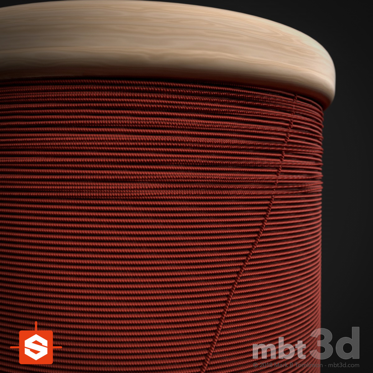 Cotton Reel: Substance Designer