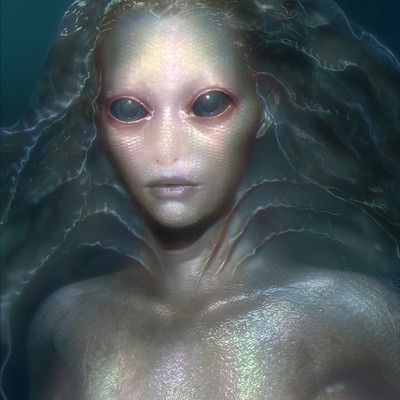 Aaron mcbride ugly mermaid version1a closed mouth