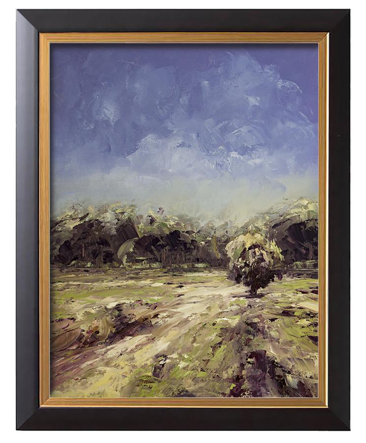 Arthur haas sunny moors framed small