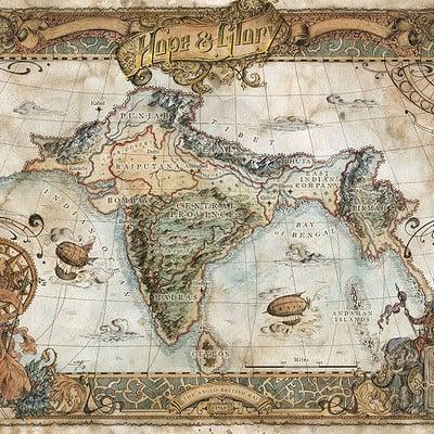 Francesca baerald fbaerald hopeandglory map