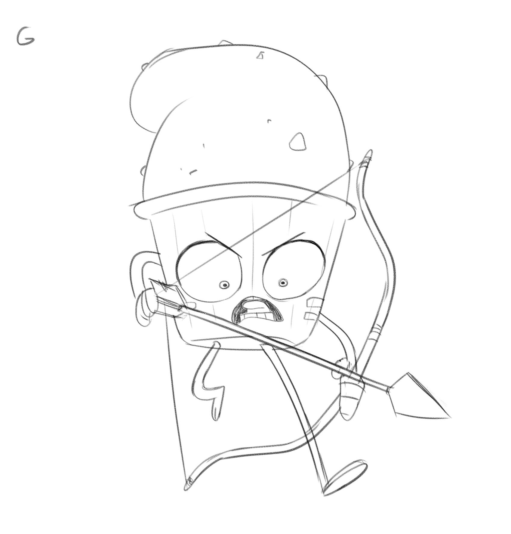 Rayner alencar g guacamole soldier archer