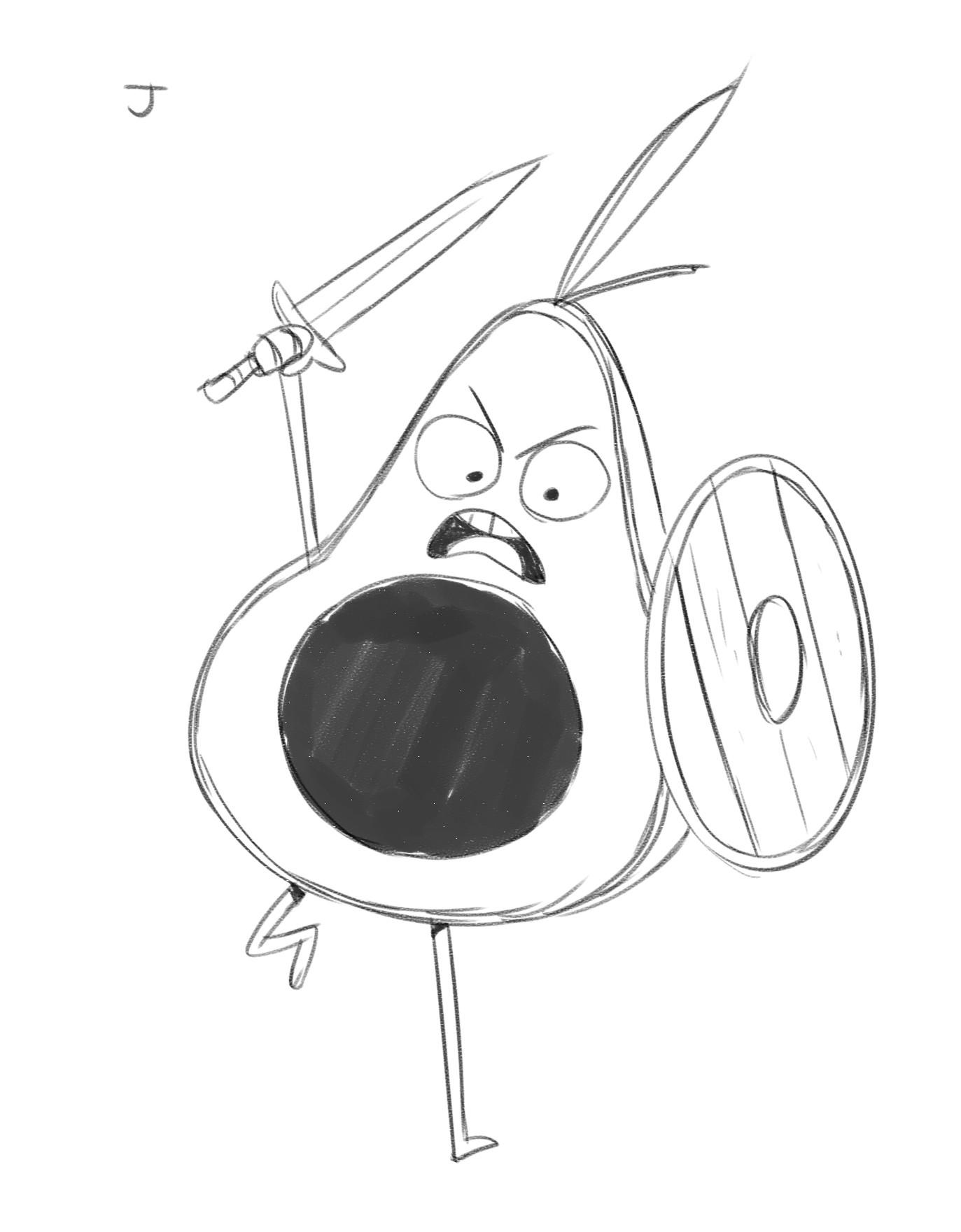 Rayner alencar j avocado soldier