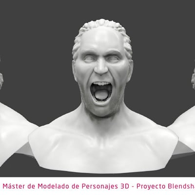 Edgar teba mateo plantilla modelado de personajes 3d furia