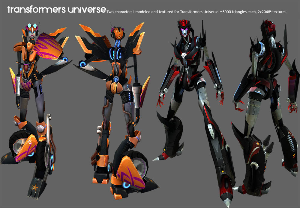 Transformers Universe Fembots