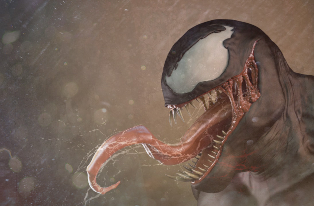 Venom 3D sculpt in Zbrush