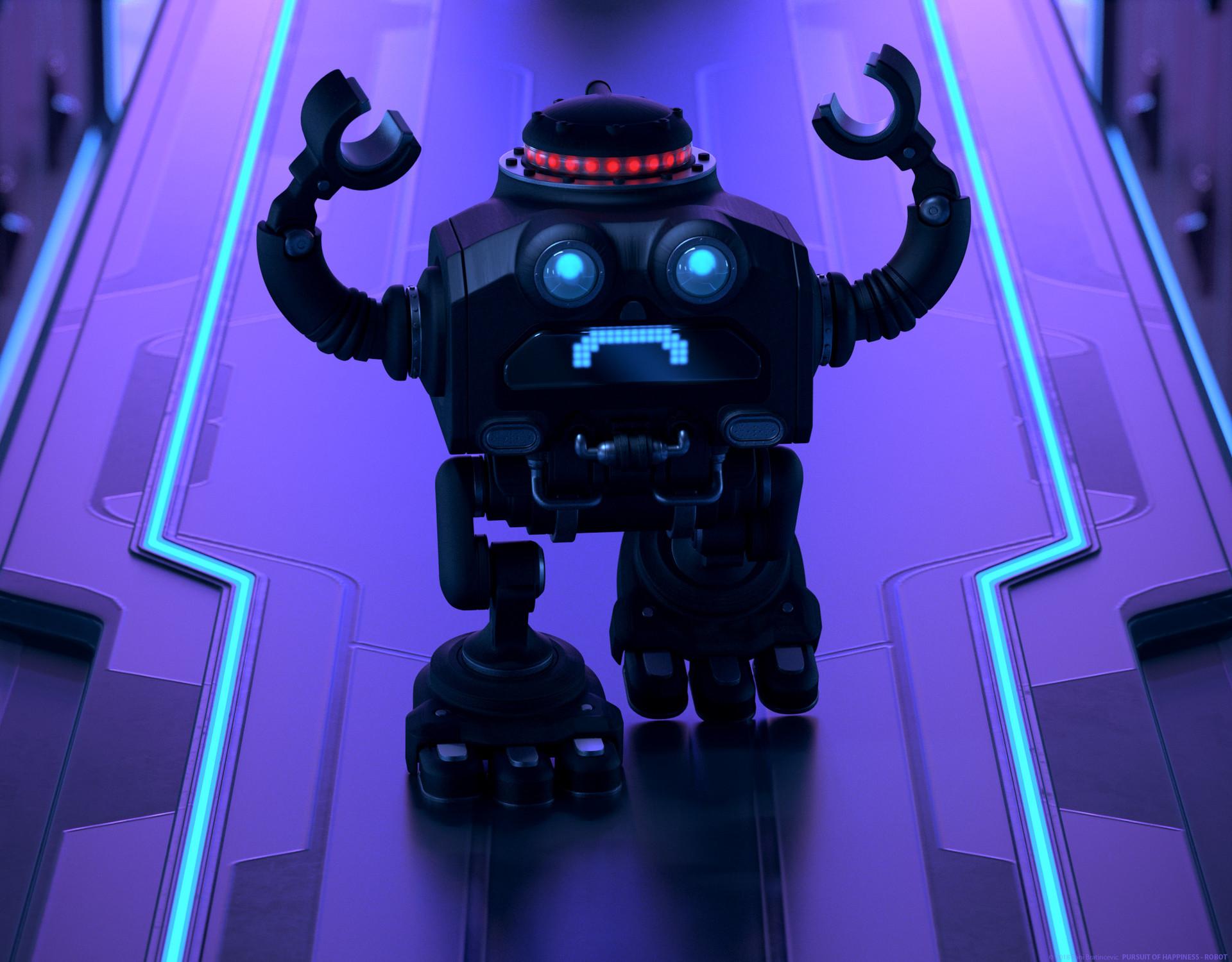 Toni bratincevic pursuit 03 robot