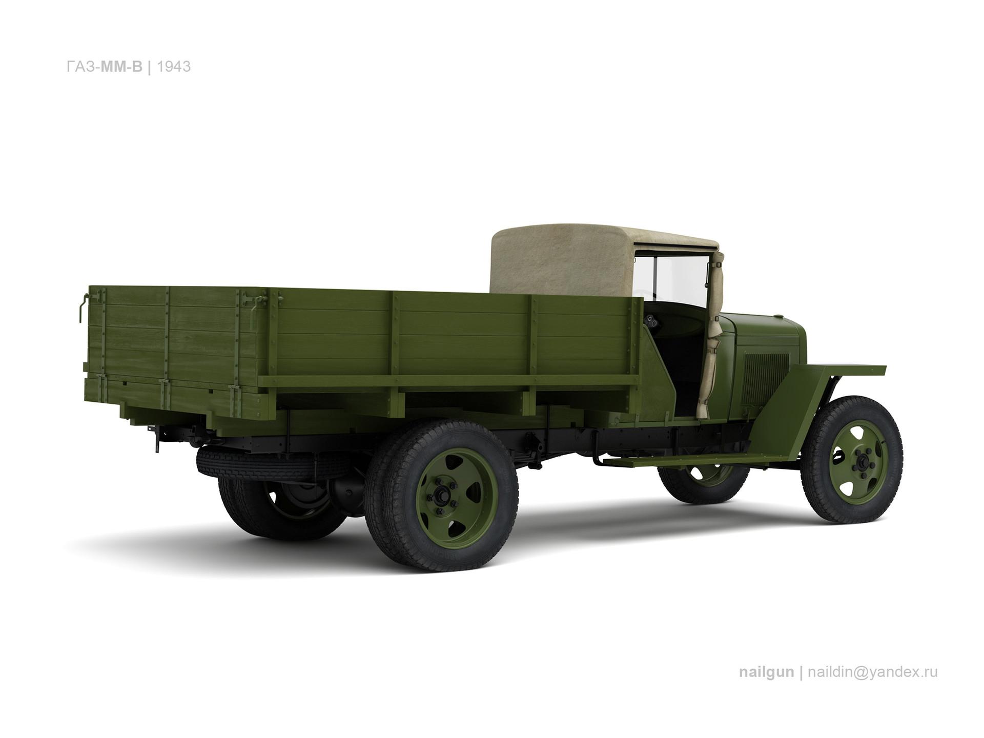 Nail khusnutdinov ussr gaz mm v 1943 1
