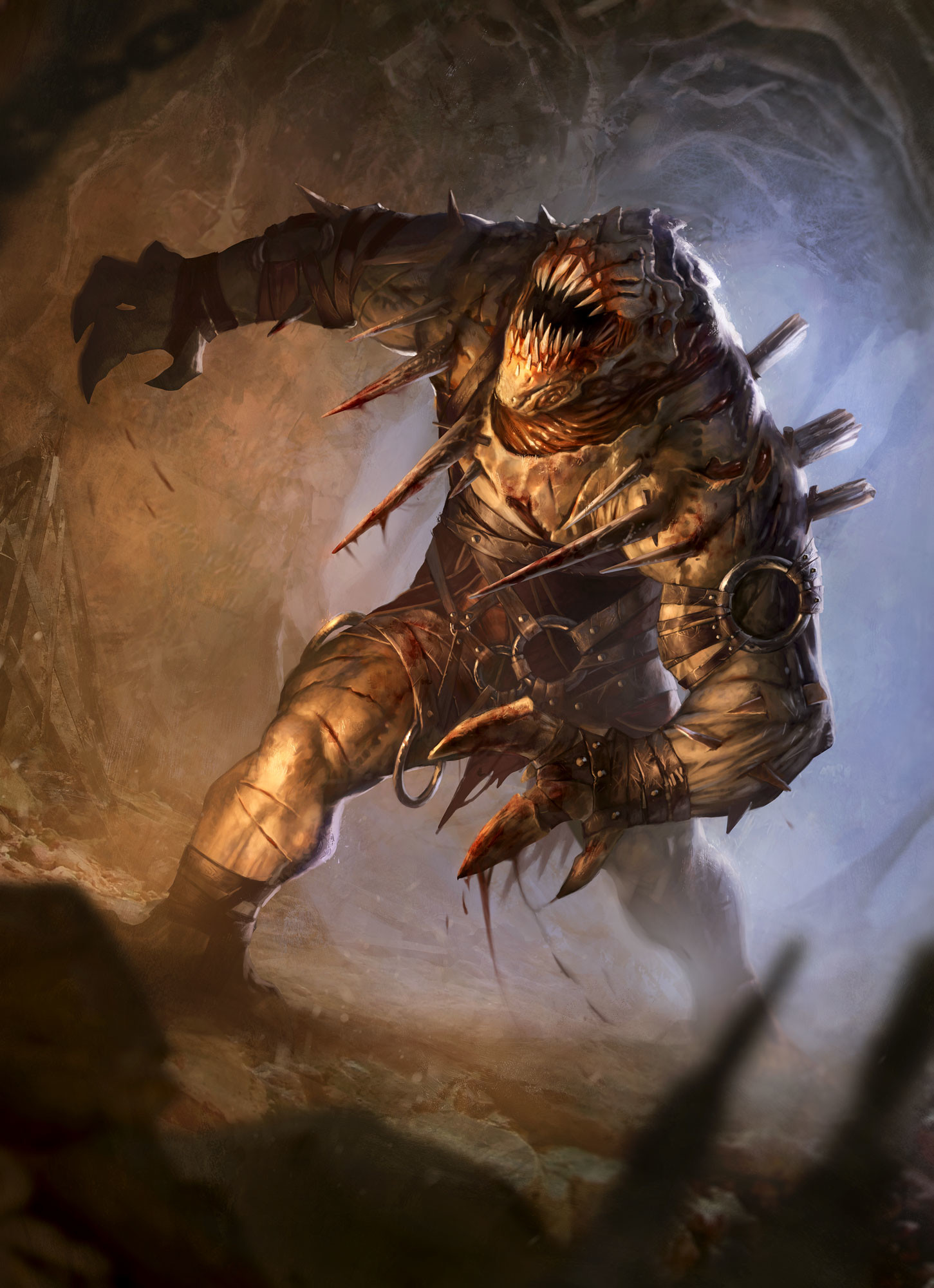 Pascal quidault claustrophobia demon combat
