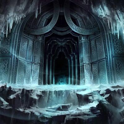 Nele diel the entrance
