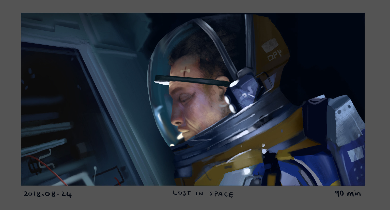 Screenshot study from Lost In Space.
