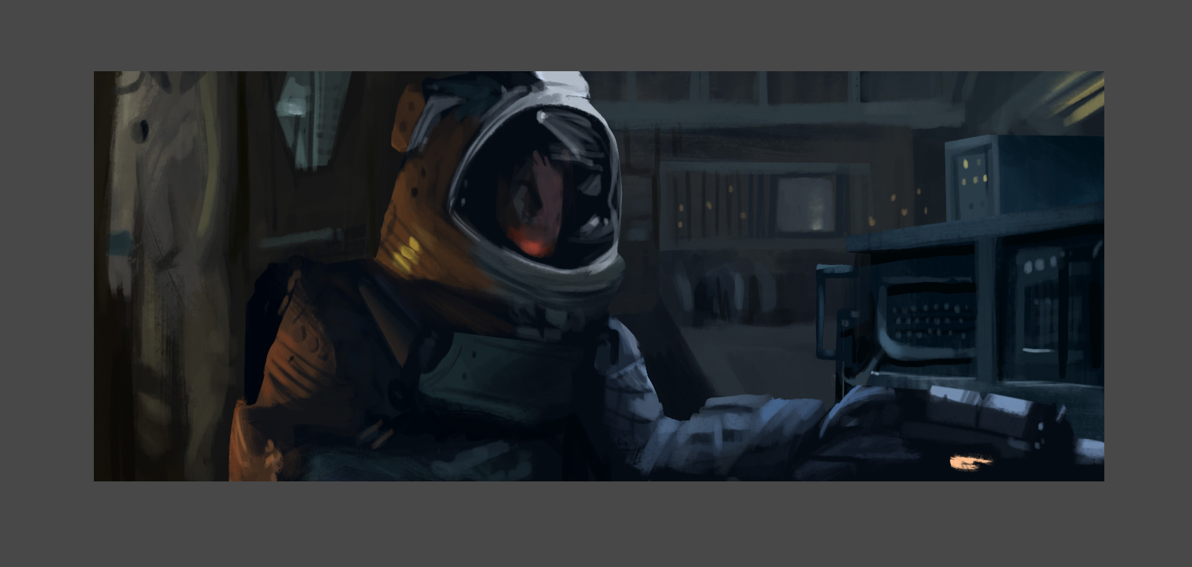 Screenshot study from Alien.