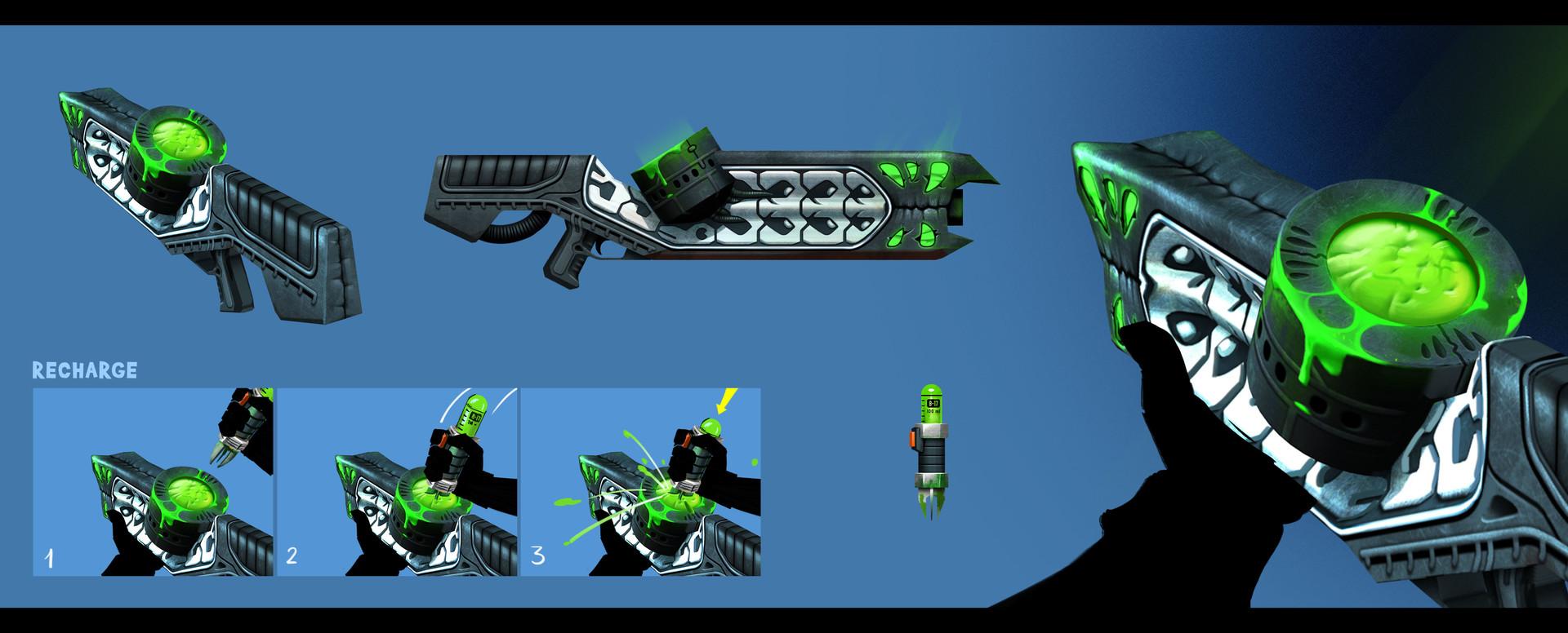 Sergey grunin poison gun concept 1
