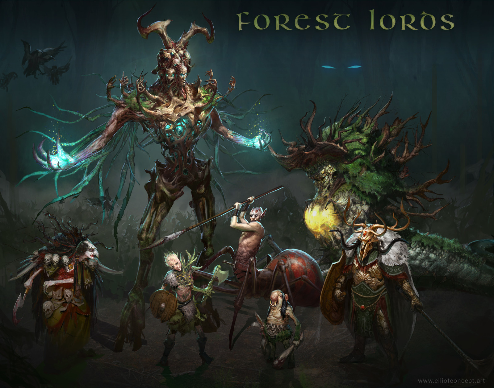 Forest Lords - Final Line up
