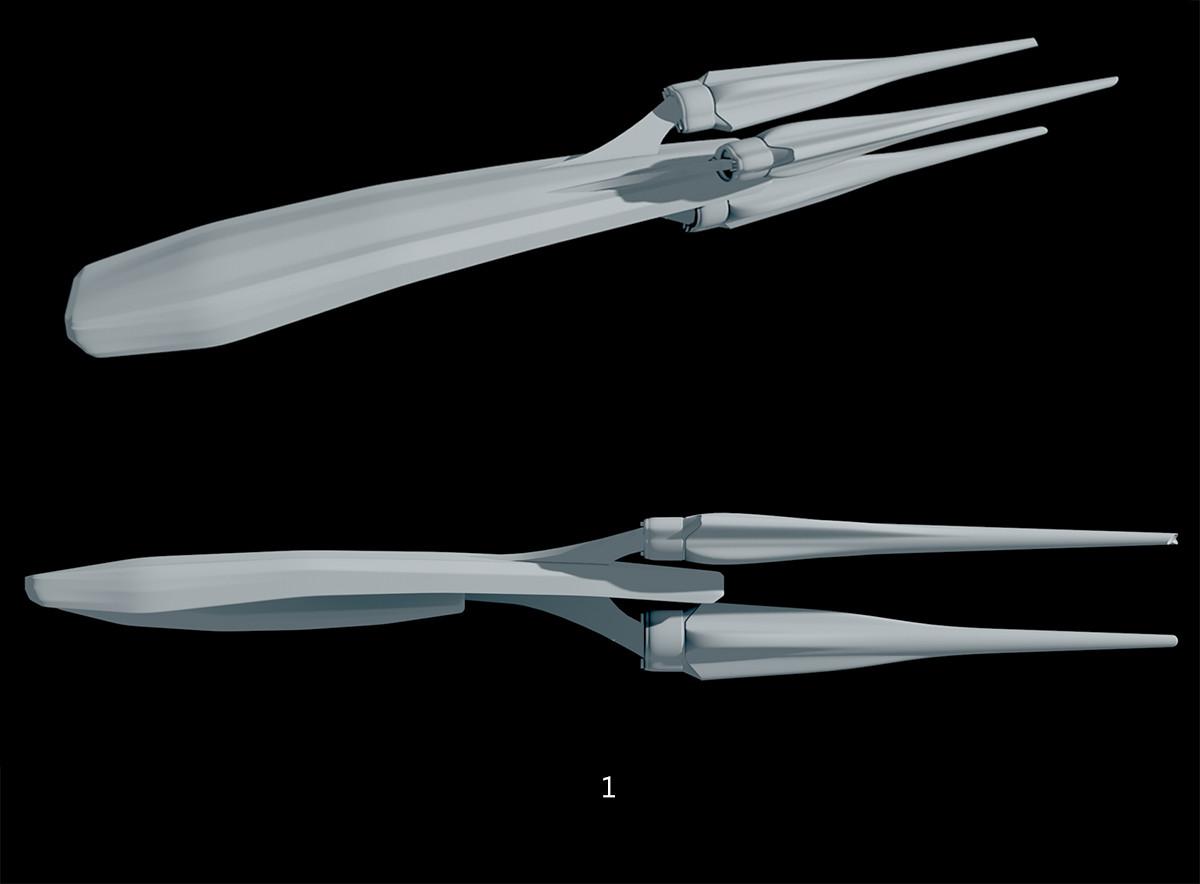 Glenn clovis ship concept 1