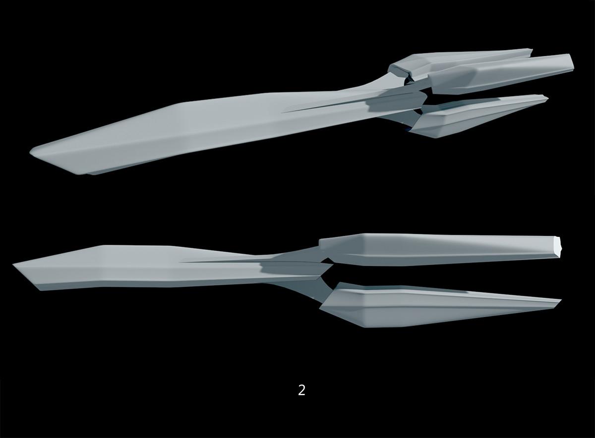 Glenn clovis ship concept 2