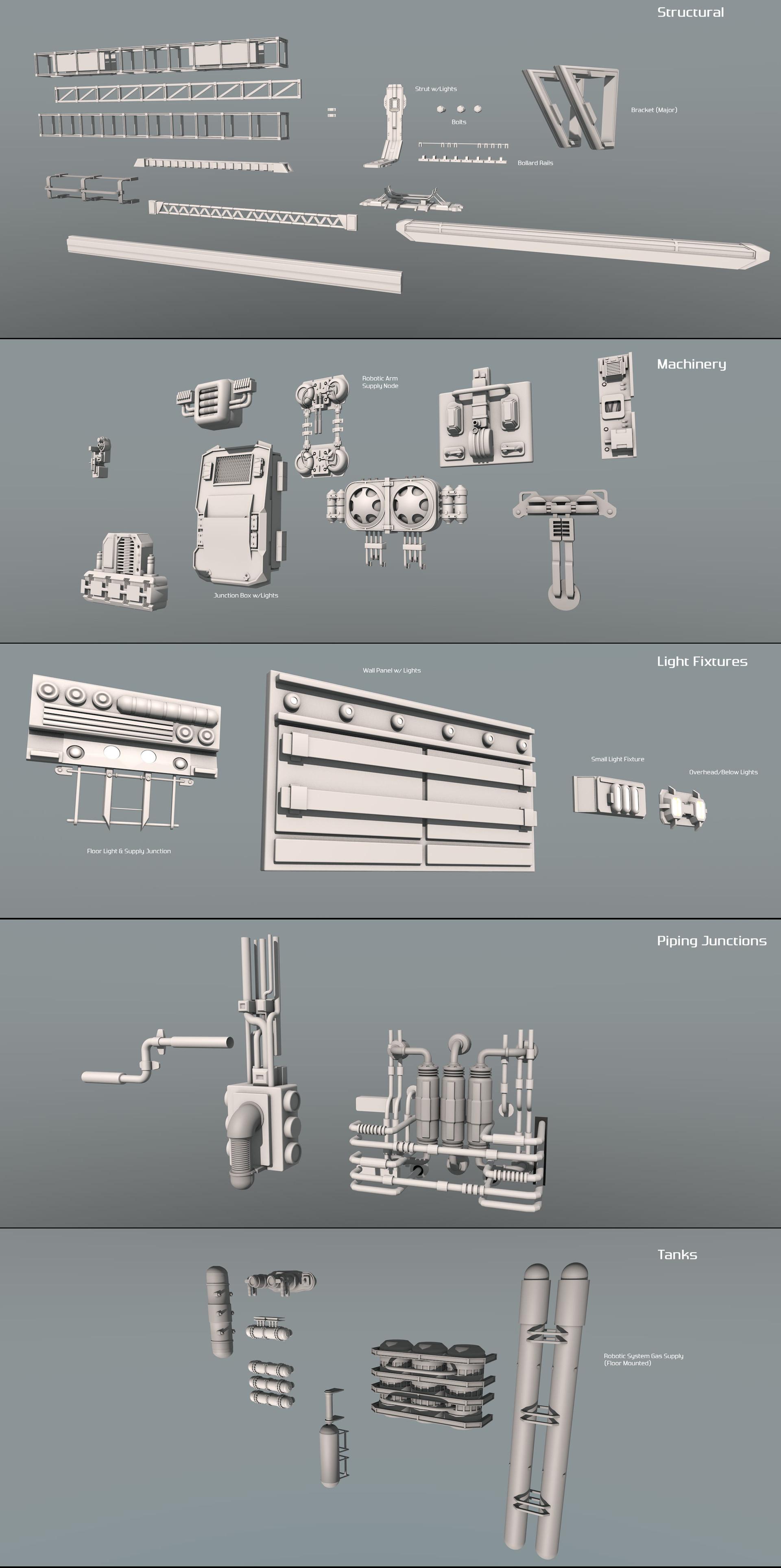 Glenn clovis hangar basic components