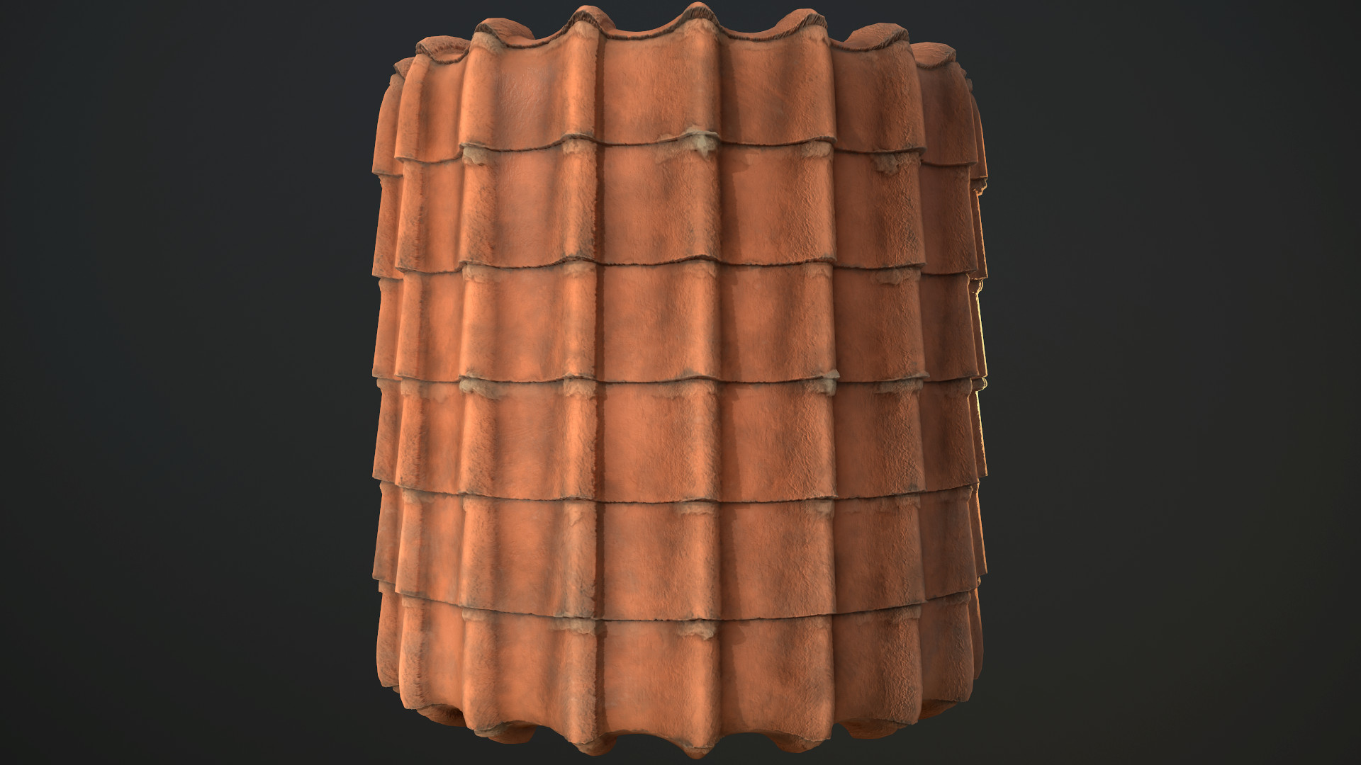 Kieran Bowsher Old Ceramic Roof Tiles