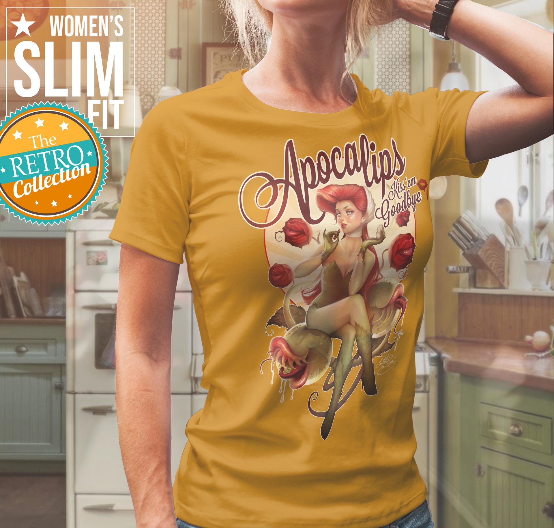 Emilie Boisvert T Shirt Designs For Dc Comics Dark Horse And Disney