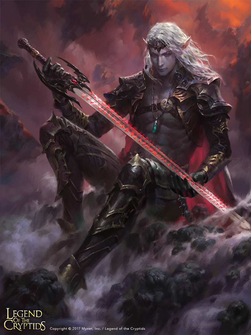 Wisnu tan dark elf blademan reg uplox