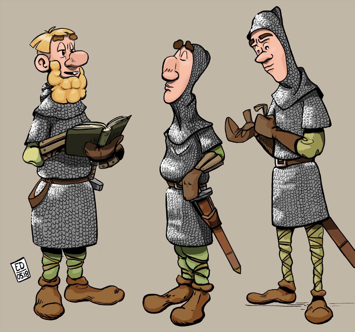 Edouard duhem infantry 1066 2