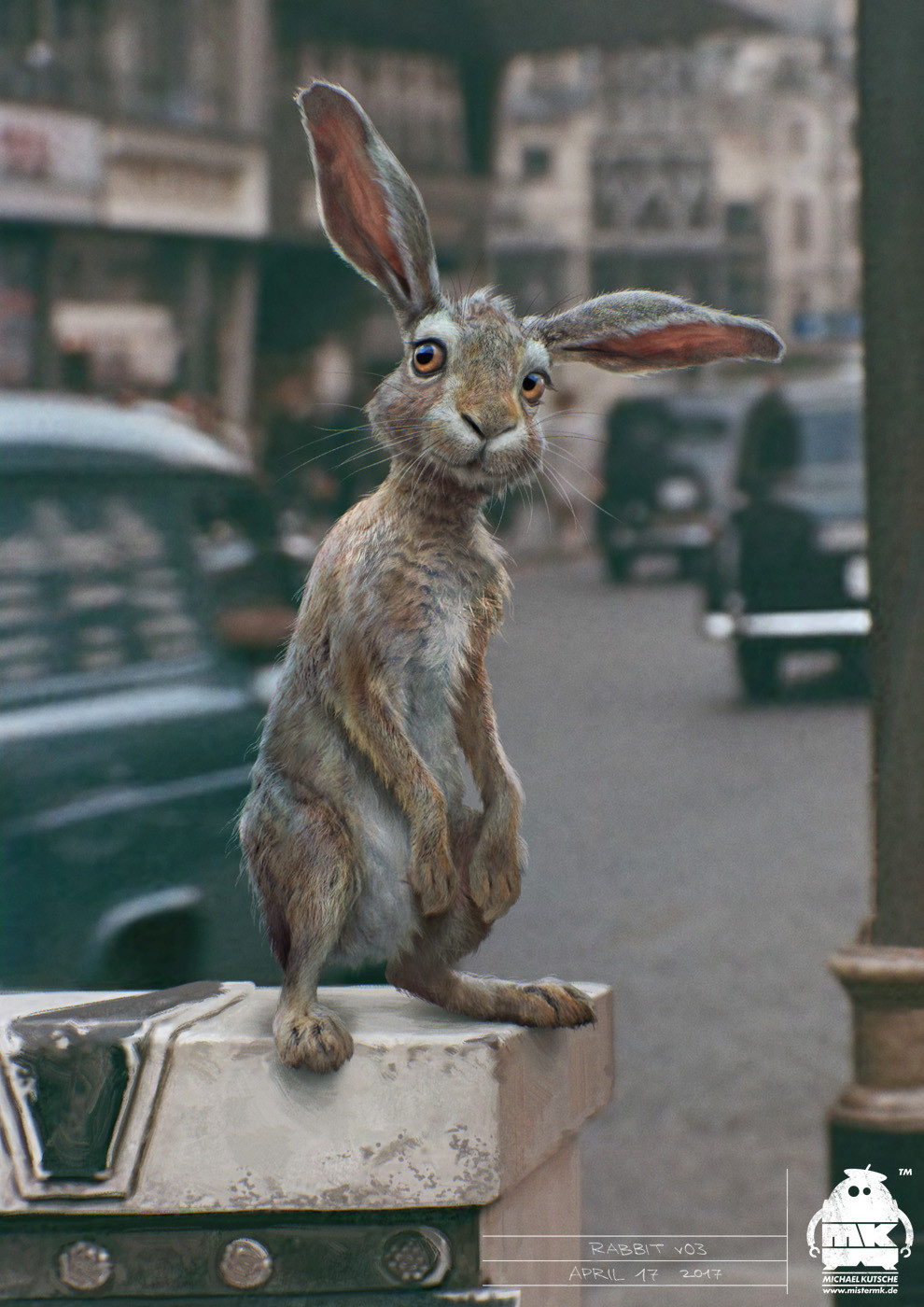 ArtStation - Christopher Robin: Rabbit Character Design ...