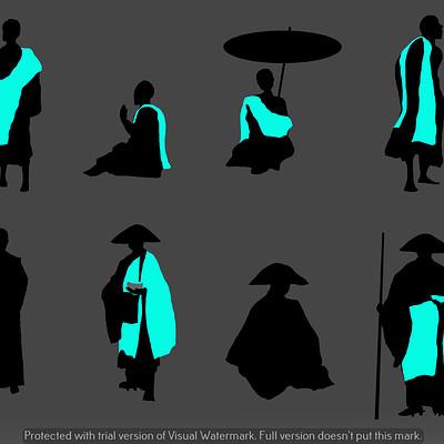 Sophie elisabeth martinez nightingale silhouettes monk