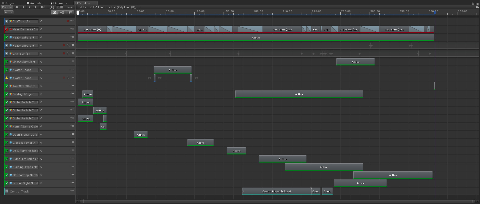 The timeline became an integral part of our pre-scripted demos. Reducing development time by 75% or more.